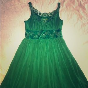 Cathérine malandrino green dress 10